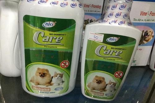 sữa tắm khô cho chó