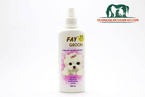sữa tắm trị viêm da cho chó