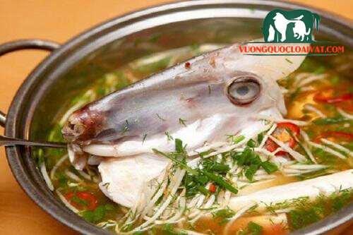 cá da bò nấu canh