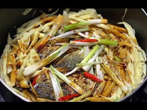 cá bạc má nướng