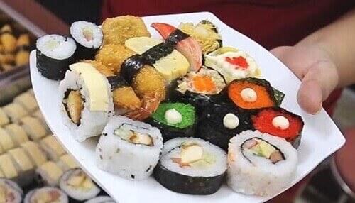 sushi gián