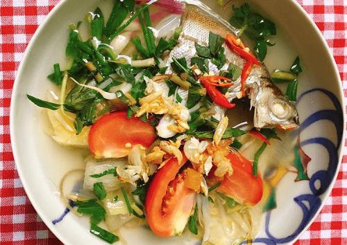 Cá ong nấu canh chua