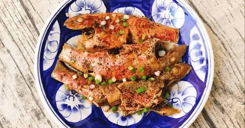 Cá Phèn kho tiêu ớt