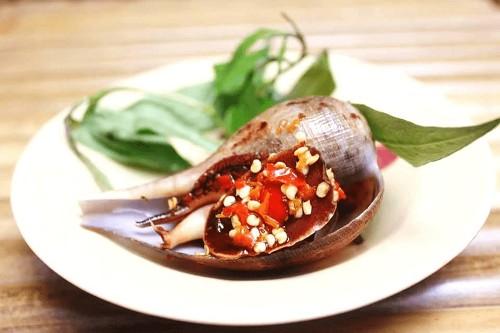 Ốc Muỗng nướng muối ớt