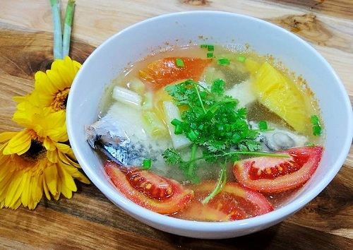 Cá duồng nấu thơm