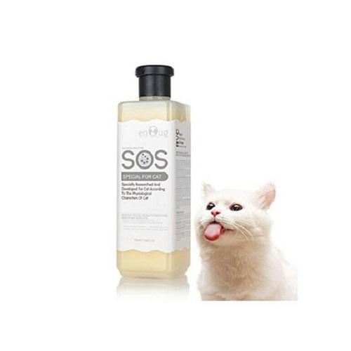 sữa tắm cho mèo sos