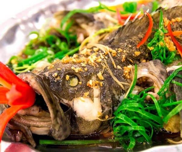 cá hấp hongkong